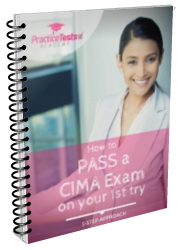 Learn how to pass your CIMA exam from the first attempt!