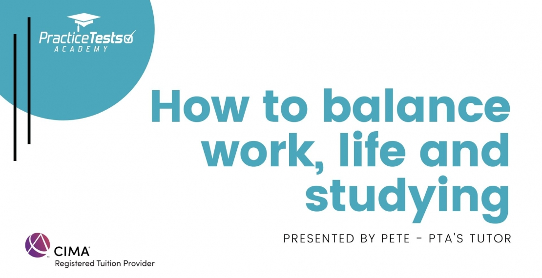 How to balance work, life, and studying