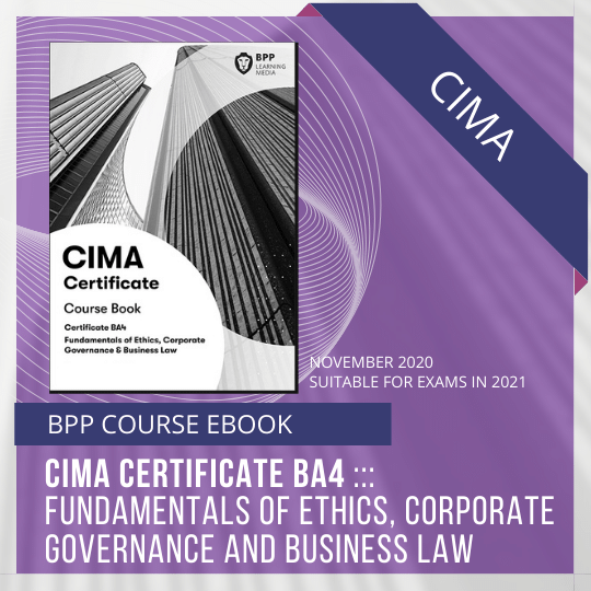 CIMA BPP BA4 COURSE EBOOK