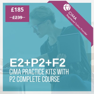 CIMA Management practice kits with P2 course
