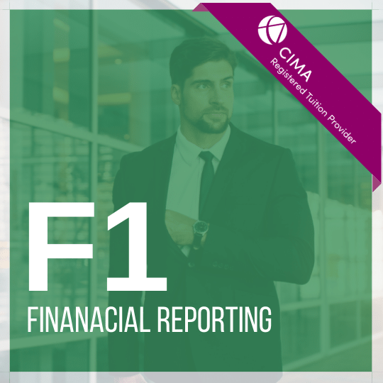 CIMA F1 Financial Reporting