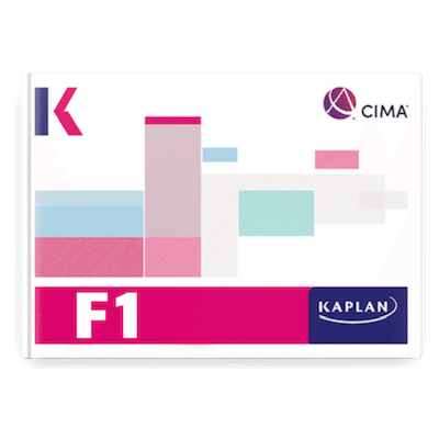 CIMA F1 Revision Cards PRINTED