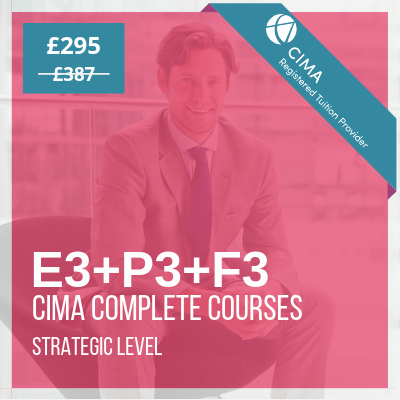cima strategic level complete courses video online e3 p3 f3