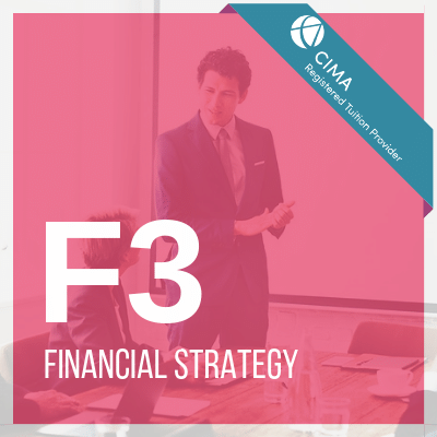 CIMA F3 Package F3 Financial Strategy