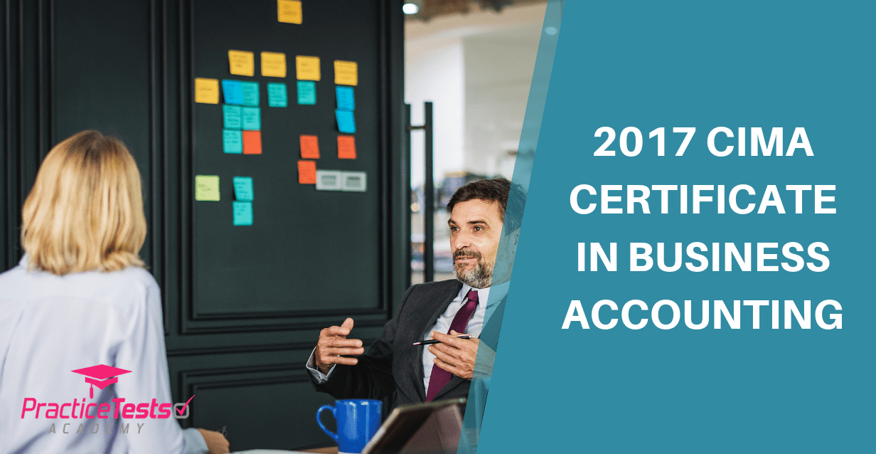 2017 CIMA Certificate in Business Accounting - Update