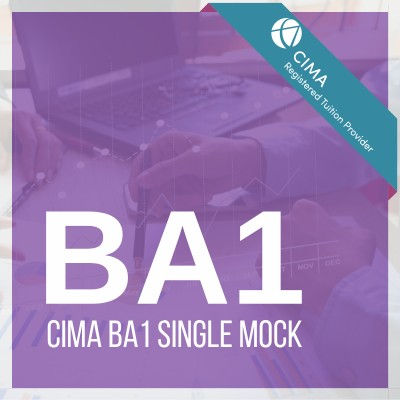 CIMA BA1 Single Mock