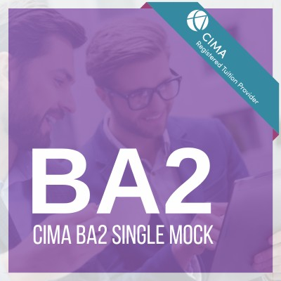 CIMA BA2 Single Mock
