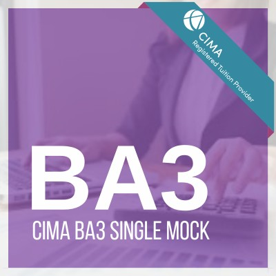 CIMA BA3 Single Mock