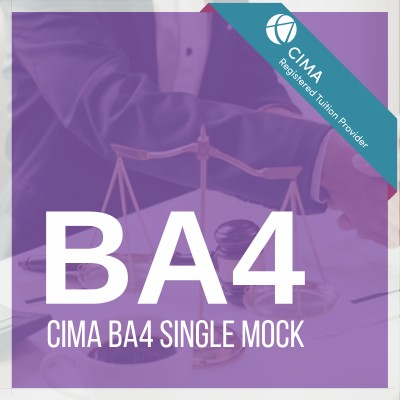 CIMA BA4 Single Mock
