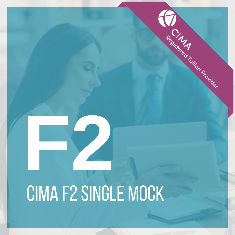 CIMA F2 Single Mock 2019