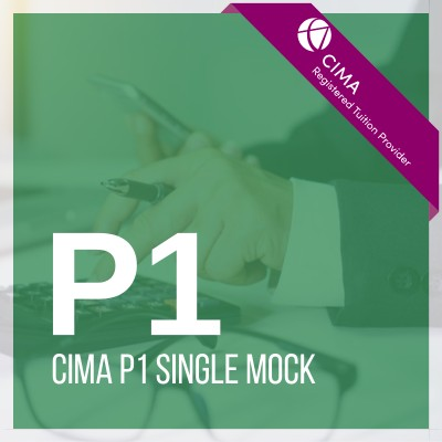 CIMA P1 Single Mock 2019