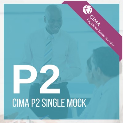 CIMA P2 Single Mock 2019