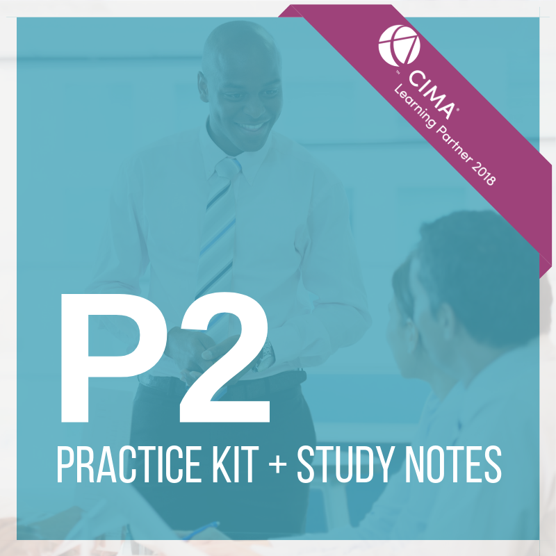 CIMA P2 Practice Kit + Study Notes