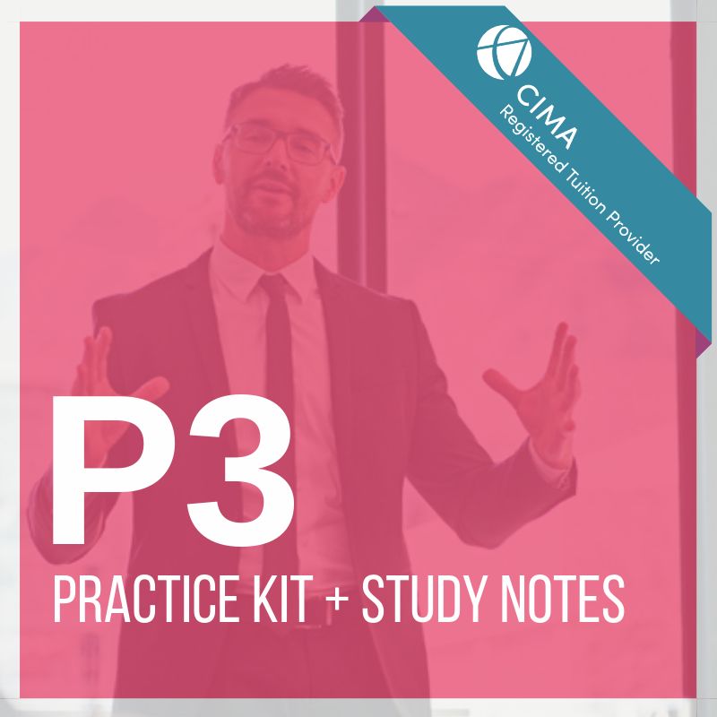 CIMA P3 Practice Kit 2019 + Study Notes